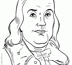 Ben Franklin Coloring Pages Free Printable Benjamin Franklin Franklin Coloring Pages