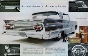 1959 lincoln lincoln car brochures pinterest cars ad car