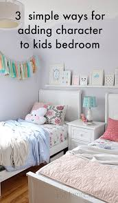 3 simple ways for adding character to kids bedroom lazy mom u0027s blog