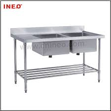 Restaurant Kitchen Stainless Steel Double Sinkstainless Steel - Restaurant kitchen sinks