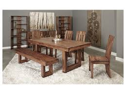 coast to coast imports brownstone brownstone dining table becker