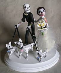 day of the dead cake toppers 21 best day of the dead wedding cake toppers by clay lindo images