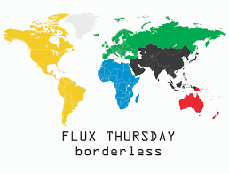 Borderless World Map by June 2013 Flux Factory
