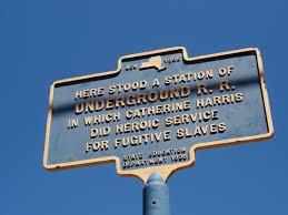 Underground Railroad Map Site Of An Underground Railroad Station Jamestown New York Image