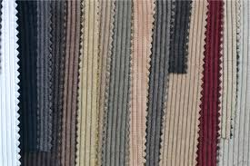 Corduroy Sofa Fabric Colorful Nylon Polyester Wale Warp Knitted Corduroy And Corduroy