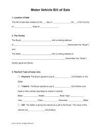template bill of sale trailer fern spreadsheet
