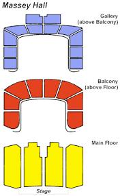 massey hall floor plan massey hall seating chart massey hall seats ticketwood