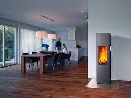 wood burning fireplace contemporary closed hearth free