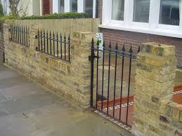 front garden brick wall designs image on brilliant home design