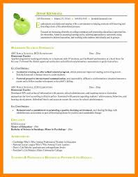 4 Resumes Samples For Teachers by 4 Resume Template For Teaching Doctors Signature