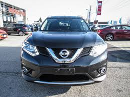 black nissan rogue 2016 used 2016 nissan rogue sl navigation leather seats back up