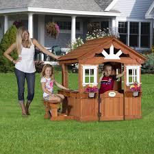 cheap shopping backyard discovery scenic all cedar playhouse
