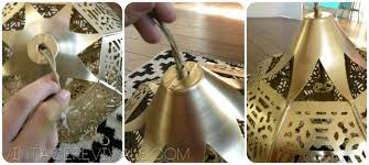 Wire Chandelier Diy Candle Lantern To Chandelier In 3 Easy Steps U2022 Vintage Revivals