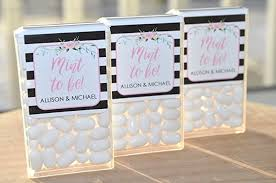 mint to be wedding favors wedding favors tic tac labels mint to be bridal