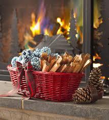 amazon com fireside gift basket with fire starters garden