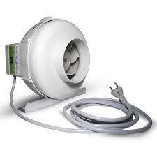 extracteur chambre de culture extracteur d air prima klima 125mm 2 vitesses 360m3 h growshop