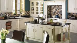edwardian buttermilk kitchen in frame style doors traditional