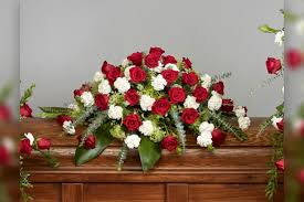 casket spray roses and carnations casket spray ramsgate floral designs