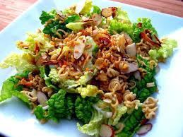 napa salad karis kitchen a vegetarian food napa cabbage salad