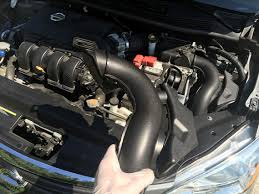 nissan sentra 2014 youtube how to replace an air intake hose 2013 2017 nissan sentra youtube