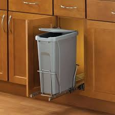 Large Kitchen Garbage Can Trash Cans Pull Out Kitchen Trash Can With Lid Pull Out Garbage