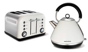 White Kettles And Toasters Morphy Richards Kettle Toaster Groupon