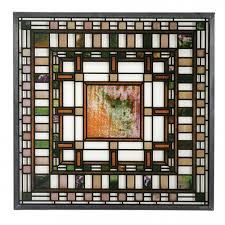 Frank Lloyd Wright Prints by Art Glass Stained Glass Window Lamps Tiffany Reproduction Frank
