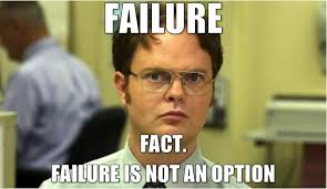 Failure Meme - a word on third failure and implementing choice in the classroom