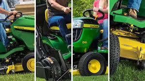 lawn tractors d100 series john deere ca
