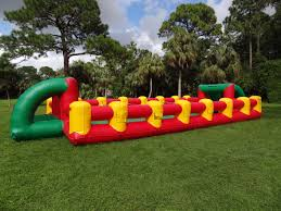 carnival games bounce house water slide and party rentals