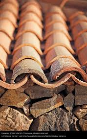 Mediterranean Roof Tile Art Esthetic Church Roof A Royalty Free Stock Photo From Photocase