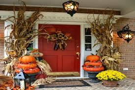 Cool Thanksgiving Door Decorations Decor Cozy Thanksgiving Front