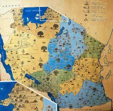 Map Of Tanzania Makumbusho Village Museum Tanzania Sst Goshen College