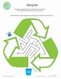 recycling worksheet the best and most comprehensive worksheets