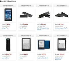 best black friday prices on tvs amazon a kindle world blog special black friday special on kindles fire