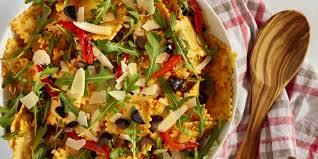 best red pepper pesto ravioli salad recipe how to make red