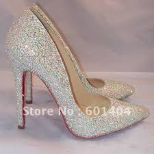 wedding shoes brands brand new fashion sliver pumps high heels