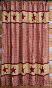 primitive shower curtains at primitive star quilt shop