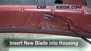 ford ranger wiper blades front wiper blade change ford ranger 1998 2005 1999 ford
