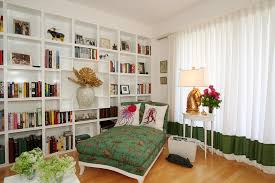 Built In Bookshelf Designs Built In Bookcases Living Room Transitional With Brick Fireplace