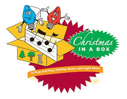 mr christmas lights and sounds fm transmitter animated lighting products just add power christmas in a box