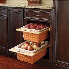 kitchen cabinets baskets rev a shelf woven basket with rails in standard and euro sizes