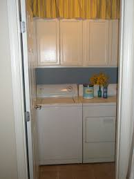 remodelaholic laundry room oak cabinet upgrade