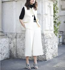 what shoes to wear with culottes instyle com