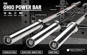 rogue ohio power bar rogue fitness