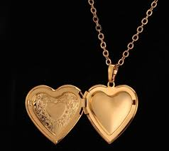 golden girl necklace images Ready to ship golden lockets for teen girls lockets for women JPG