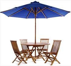 Patio Set With Umbrella Umbrella Patio Sets Get Minimalist Impression Erm Csd