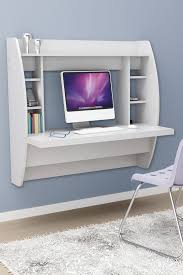 Floating Desk Plans Furniture Classy And Stylish Floating Desk With Storage