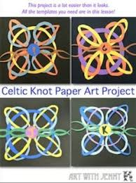 march activities activities celtic knots and construction
