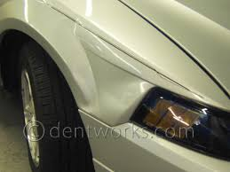 How Much Does A Mazda Rx7 Cost Paintless Dent Repair Before And After Pictures Dentworks Of Austin
